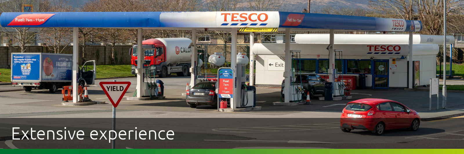 Tesco Petrol Filling Station