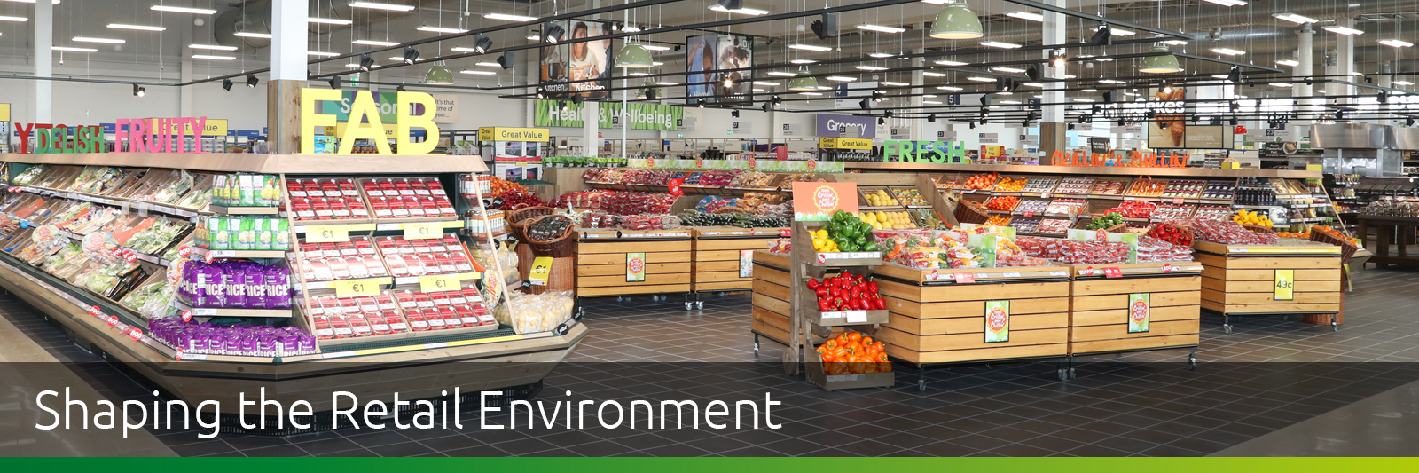 Liffey Valley Retail Grocery Fitout