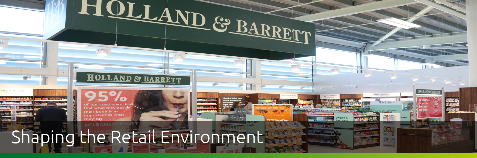 Holland & Barrett Fitout
